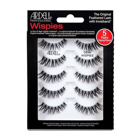 Ardell Eyelash Demi Wispies Multipack Black - 5ct