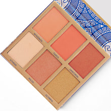 Load image into Gallery viewer, Bh Cosmetics Glowing in Greece Blush And Highlight Palette