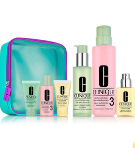 Clinique Great Skin Home & Away Gift Set (Skin Types 3 & 4)