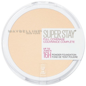 Maybelline Super Stay Full Coverage Powder Foundation Makeup 120