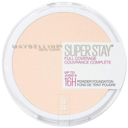 Maybelline Super Stay Full Coverage Powder Foundation Makeup 112