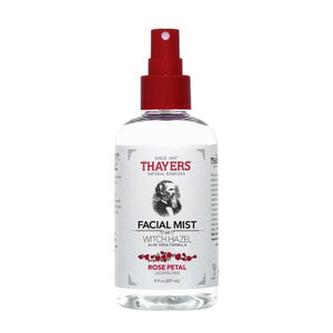 Thayers  Alcohol Free Witch Hazel Facial Mist Rose Petal 8 oz