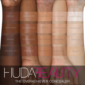 Huda Beauty The Overachiever High Coverage Concealer Nougat