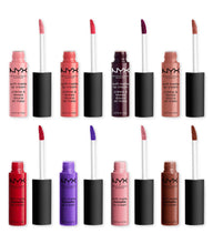 Load image into Gallery viewer, Nyx Love Lust Disco Matte Lip Cream Vault set