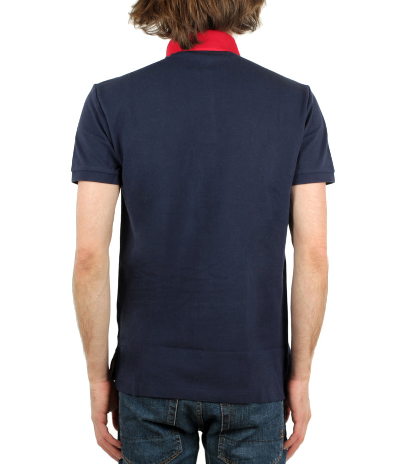 Polo in Piquet Slim-Fit