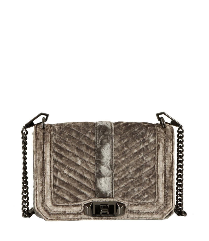 Borsa Chevron Quilted Love Crossbody