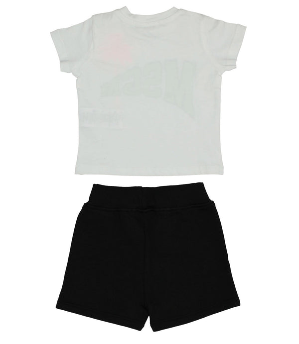 Set T-shirt e shorts con
