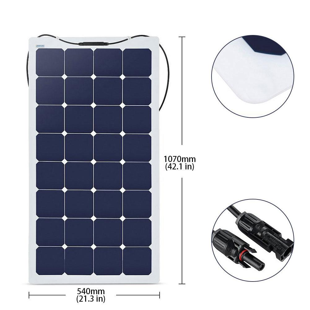 550 Watts Flexible Solar Marine Kit , 40A MPPT Charge Controller by ACOPOWER - Proud Libertarian