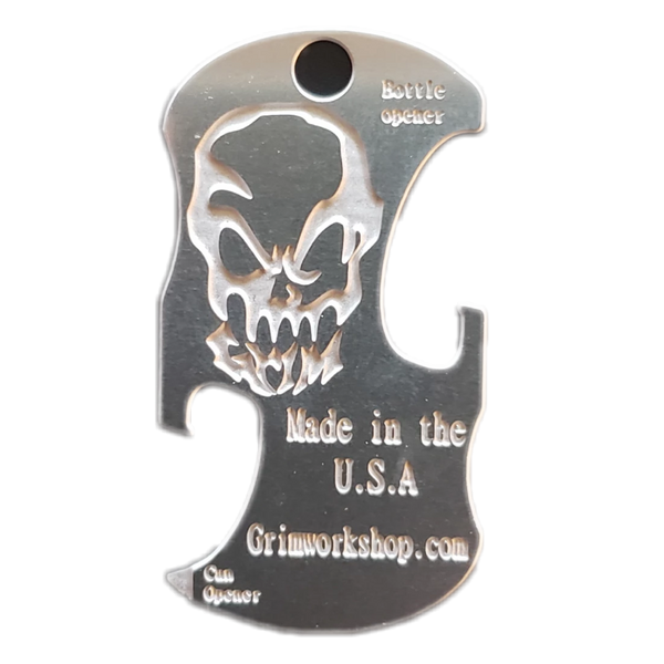 Bottle & Can Opener Dog Tag - Proud Libertarian