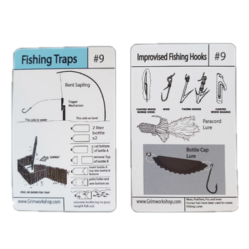 #9 Fishing Tip card (traps and hooks) - Proud Libertarian