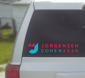 Jo Jorgensen Vinyl Window Decal (Small) - Proud Libertarian