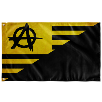 ANCAPISTAN Wall Flag - 36