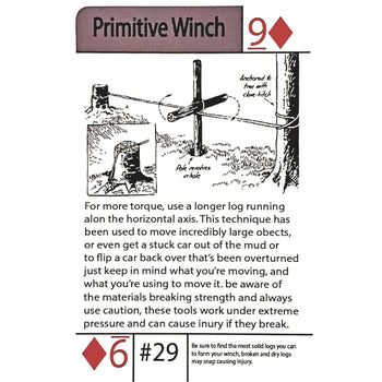 #29 Primitive Winch Tip Card - Proud Libertarian