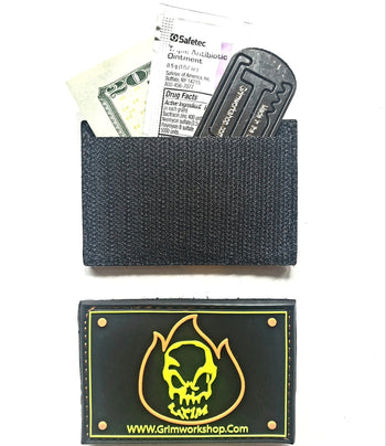 Grim fire starter Morale Patch with Hidden Pocket - Proud Libertarian