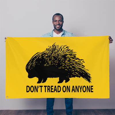 Don't Tread On Anyone Porcupine - Proud Libertarian