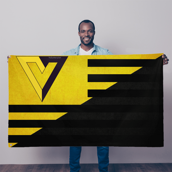 Ancap Voluntaryism Wall Flag - 36