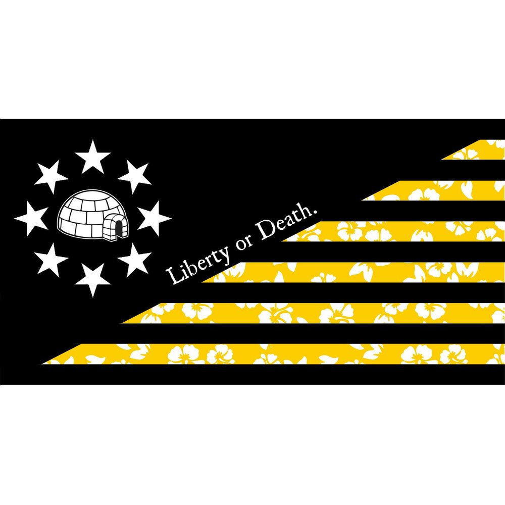 Give Me Liberty or Give Me Death Flag - Proud Libertarian