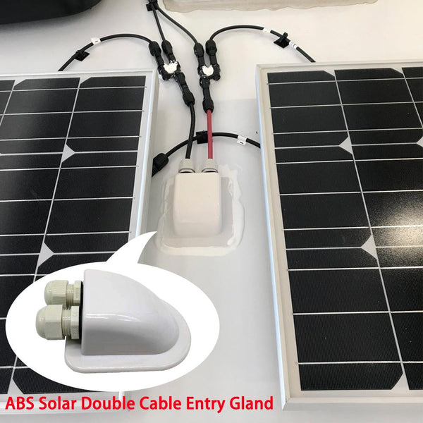 400W 12V Poly Solar RV Kits, 40A MPPT Charge Controller by ACOPOWER - Proud Libertarian
