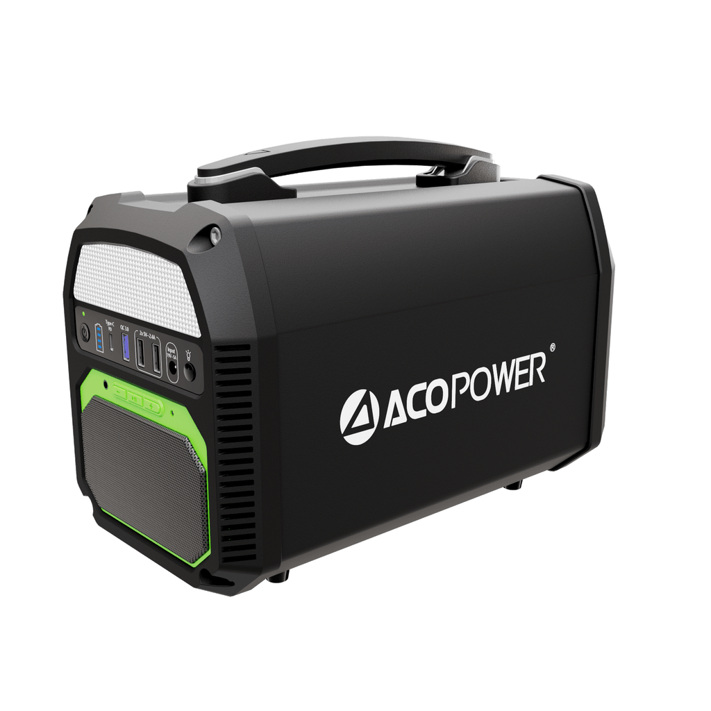 462Wh/500W Portable Solar Generator (New Arrival 2020) by ACOPOWER - Proud Libertarian