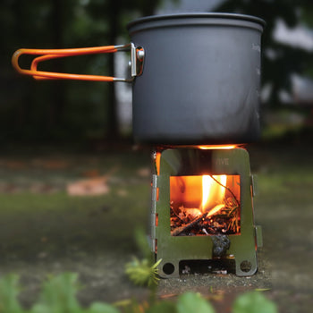 Portable Mini Wood Burning Survival Stove by QUICKSURVIVE - Proud Libertarian