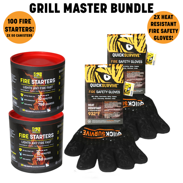 Grill Master Bundle by QUICKSURVIVE - Proud Libertarian