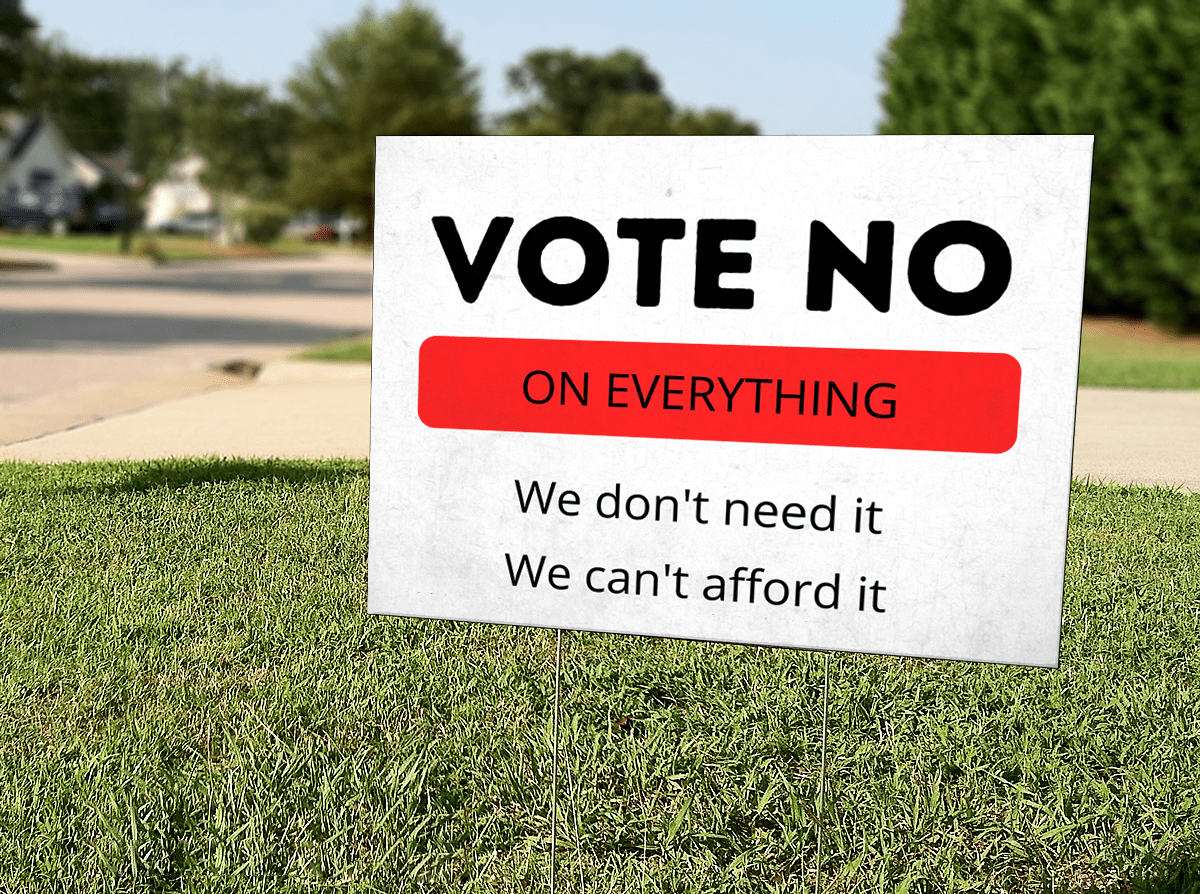 Vote No On Everything