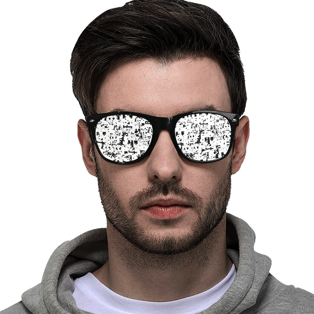HyperFace Anti-Facial recognition Glasses - Proud Libertarian
