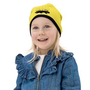 Taxation is Theft Porcupine All-Over Print Kids Beanie - Proud Libertarian