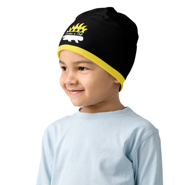 Taxation is Theft Porcupine Kids Beanie - Proud Libertarian