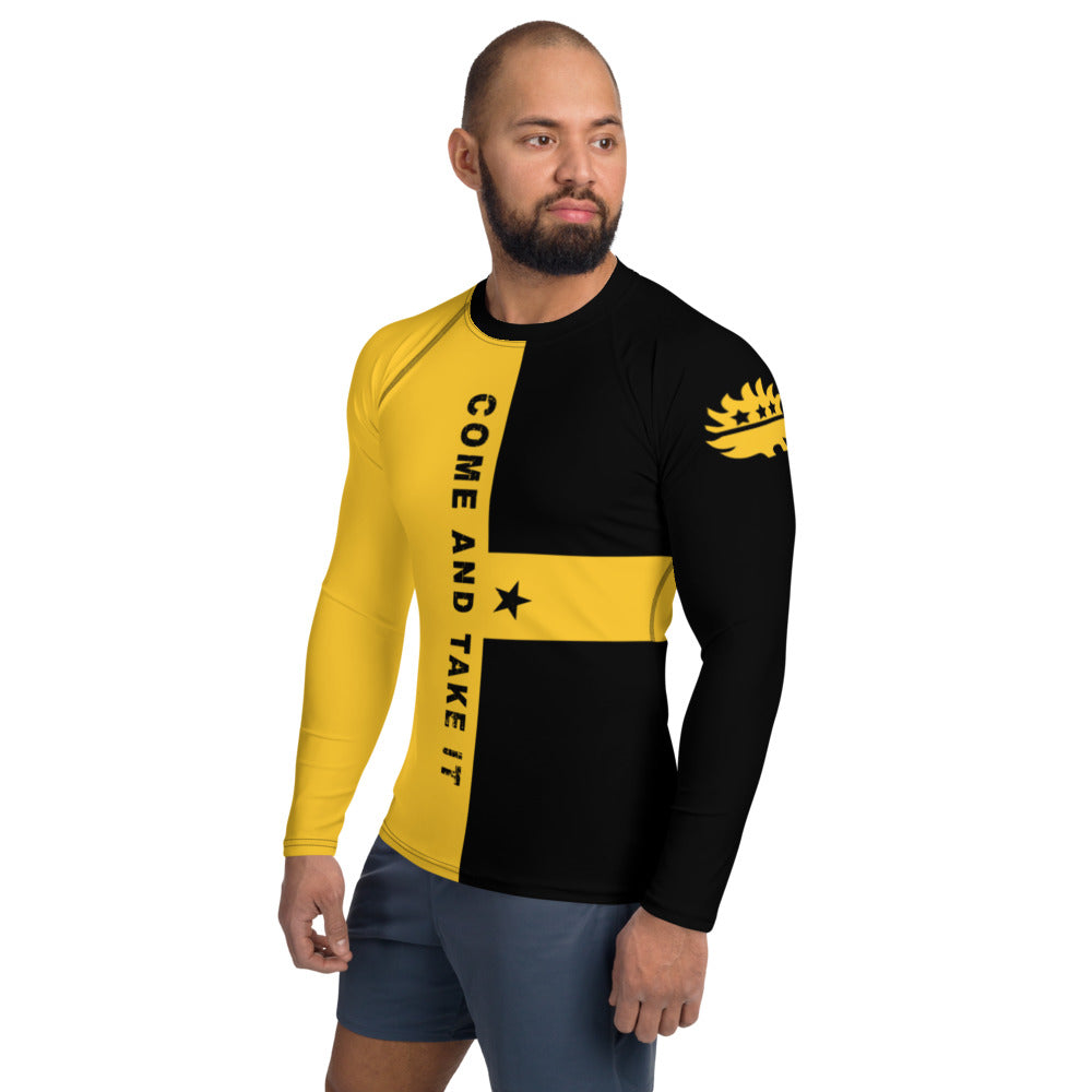 Come and Take It AR-15 Men's Rash Guard - Proud Libertarian