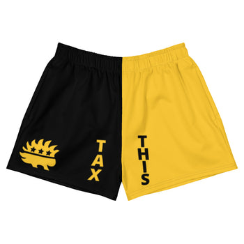 Tax This Athletic Short Shorts - Proud Libertarian