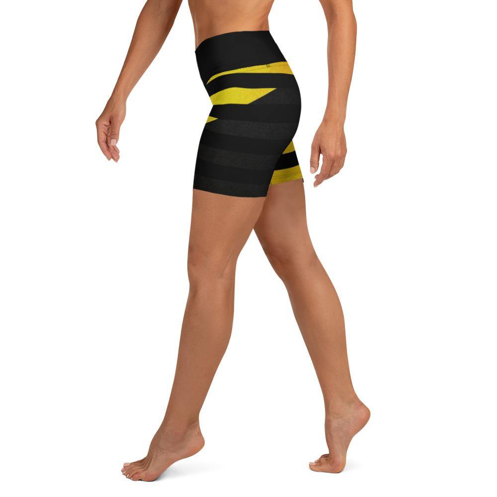 Ancap 13 Star Yoga Shorts - Proud Libertarian