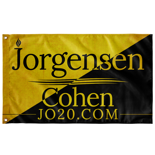 Jorgensen Cohen 2020 - Ancap Black and Gold - Proud Libertarian