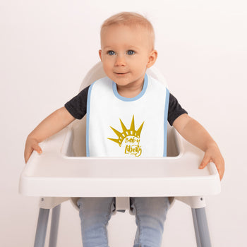 Baby Liberty Embroidered Baby Bib - Proud Libertarian