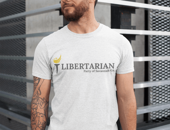 Libertarian Party of Savannah T-Shirt - Proud Libertarian