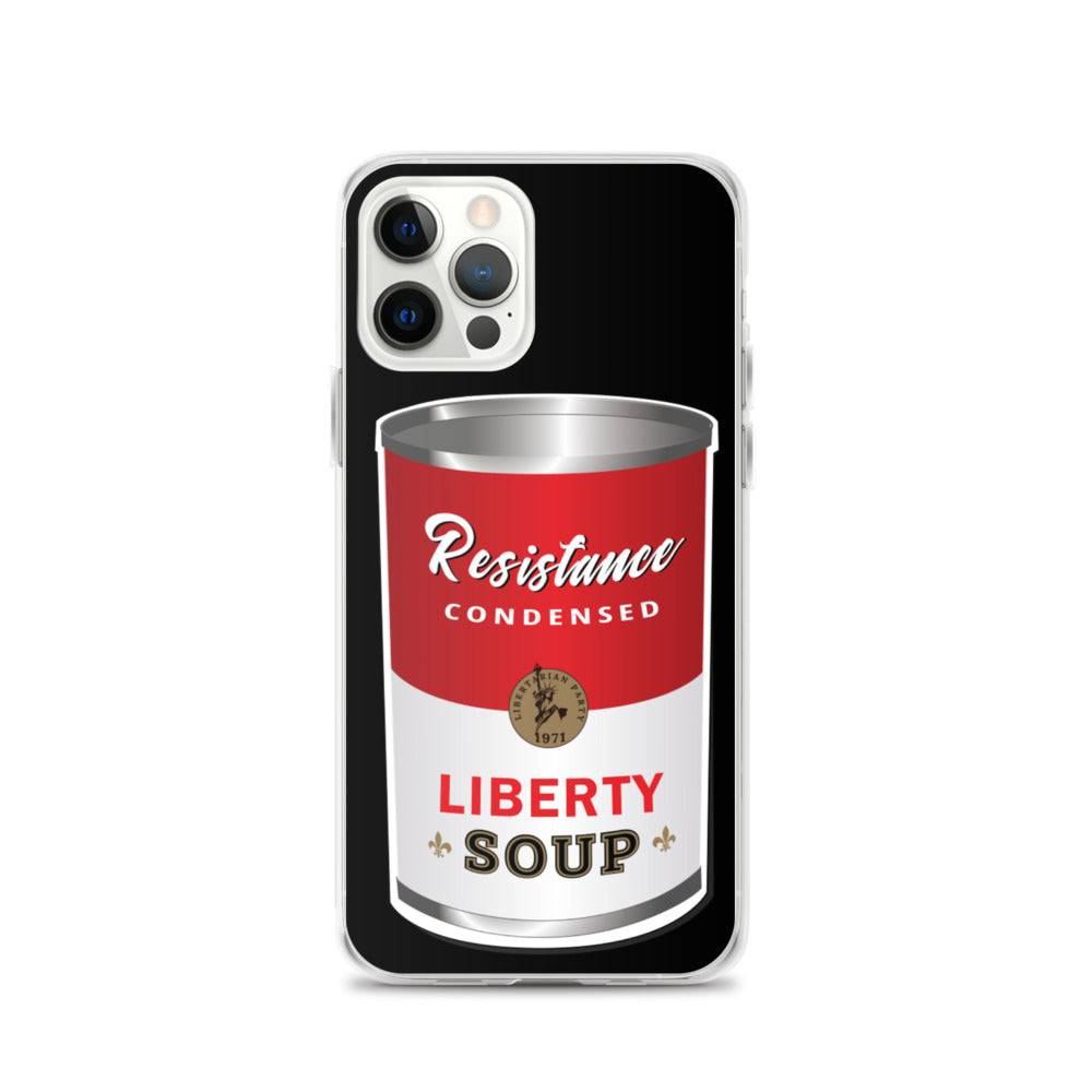 "This is Soup for My Family ""Resistance"" iPhone Case - Proud Libertarian"