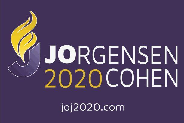 Jo Jorgensen / Cohen 2020 Yard Sign