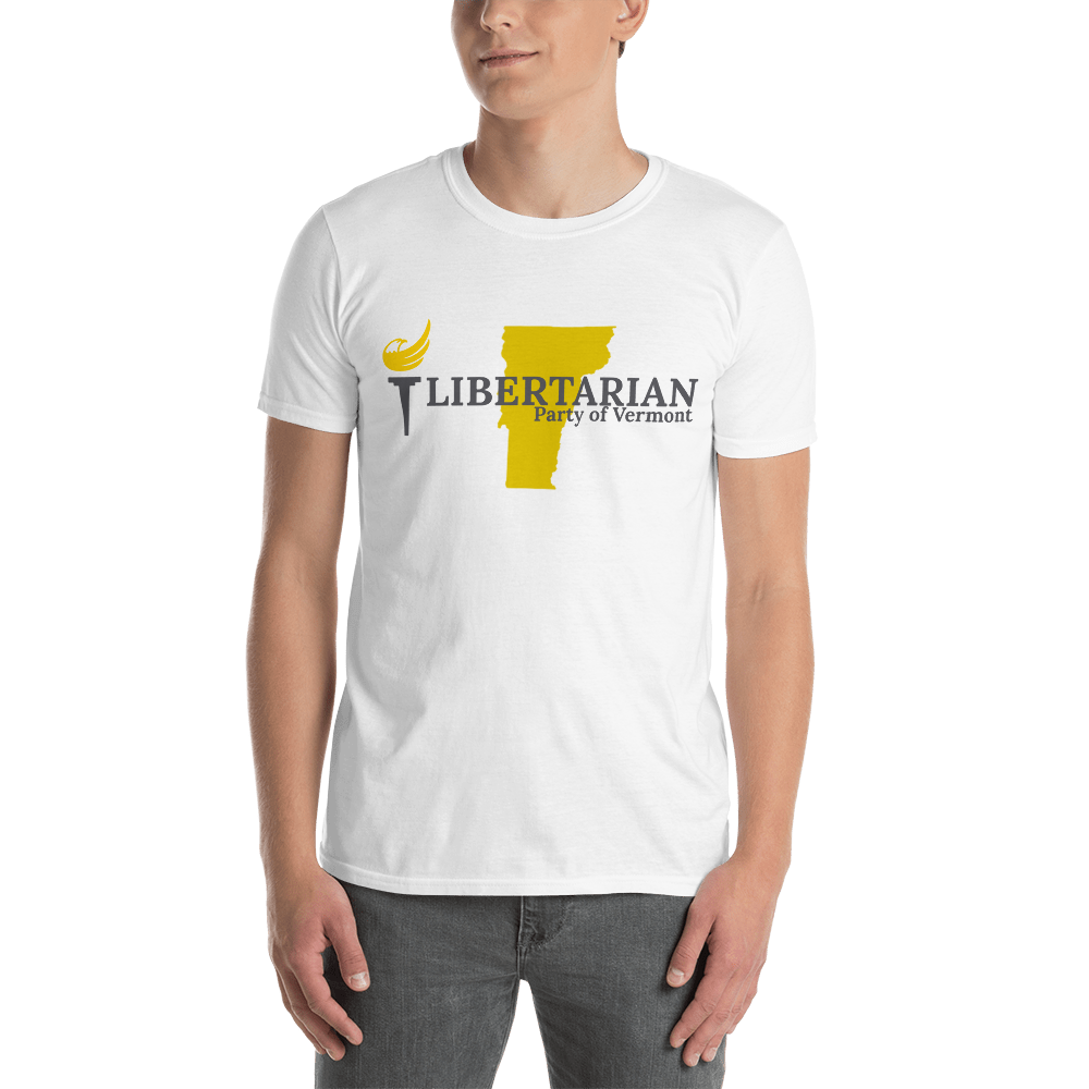 Libertarian Party of Vermont Short-Sleeve Unisex T-Shirt - Proud Libertarian