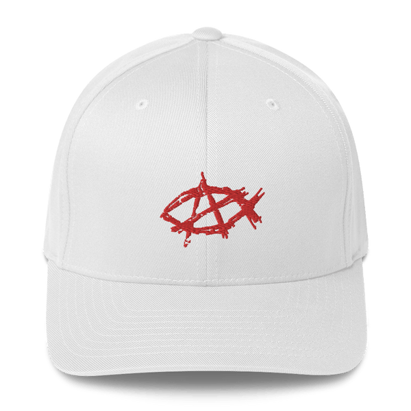 AnarchoChristian Flex-Fit hat - Proud Libertarian