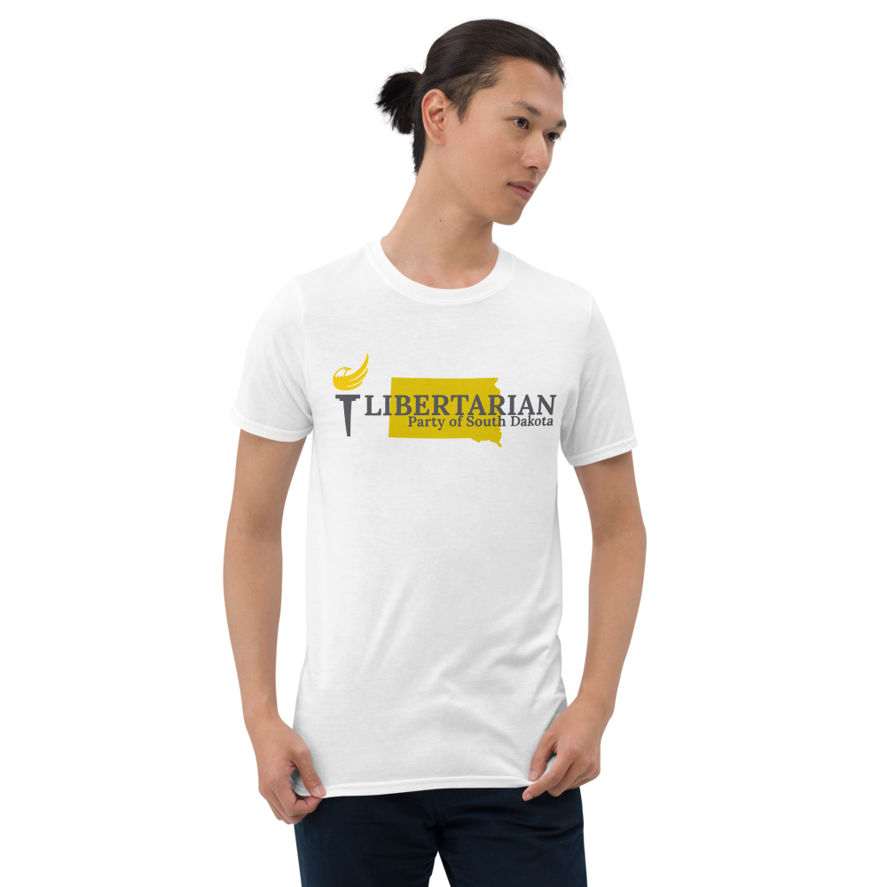 Libertarian Party of South Dakota Short-Sleeve Unisex T-Shirt - Proud Libertarian