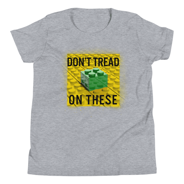 Don't Tread on These Bricks Youth Short Sleeve T-Shirt - Proud Libertarian