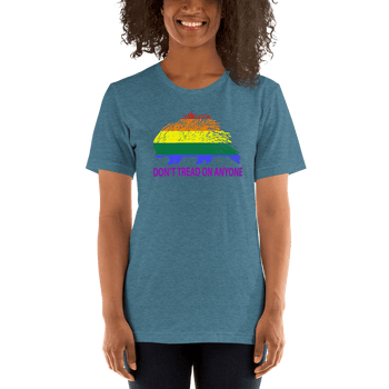 Don't Tread on Anyone LGBTQ SlimFit Unisex T-Shirt - Proud Libertarian
