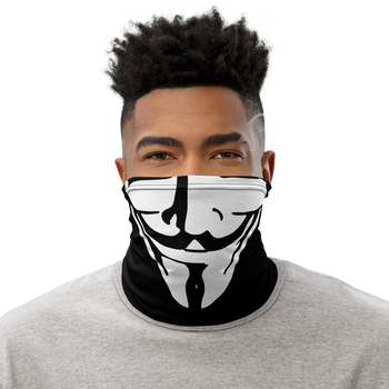 Guy Fawkes Anonymous Mask - Proud Libertarian