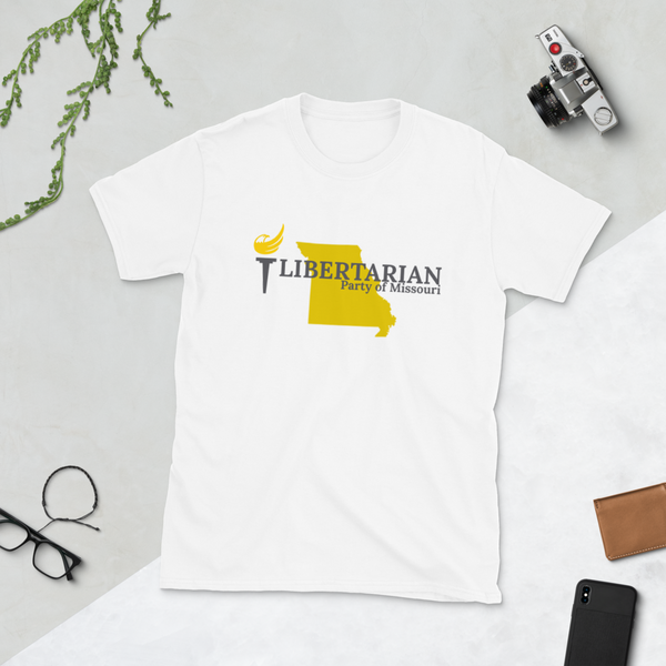 Libertarian Party of Missouri Short-Sleeve Unisex T-Shirt - Proud Libertarian