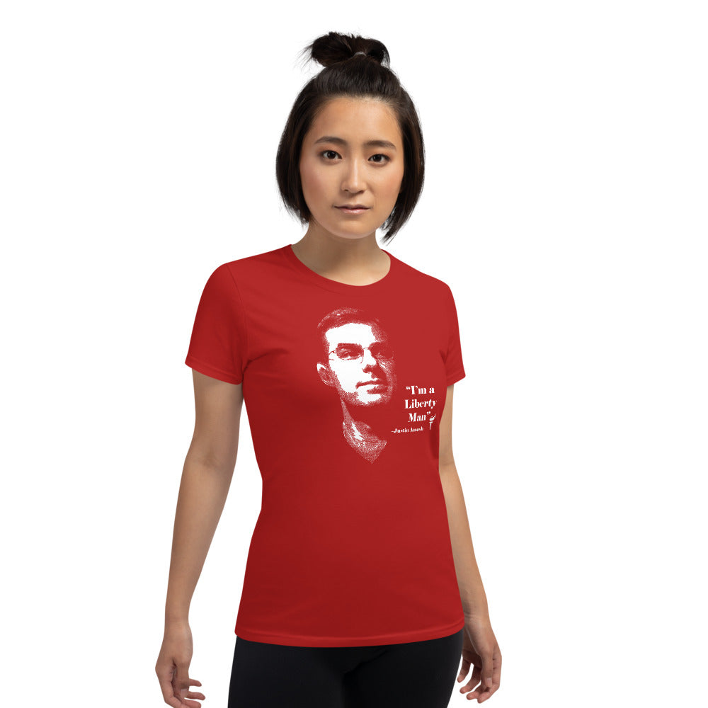 I'm a Liberty Man - Justin Amash Women's t-shirt - Proud Libertarian
