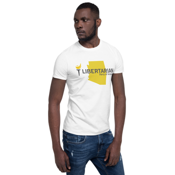 Libertarian Party of Arizona Short-Sleeve Unisex T-Shirt - Proud Libertarian