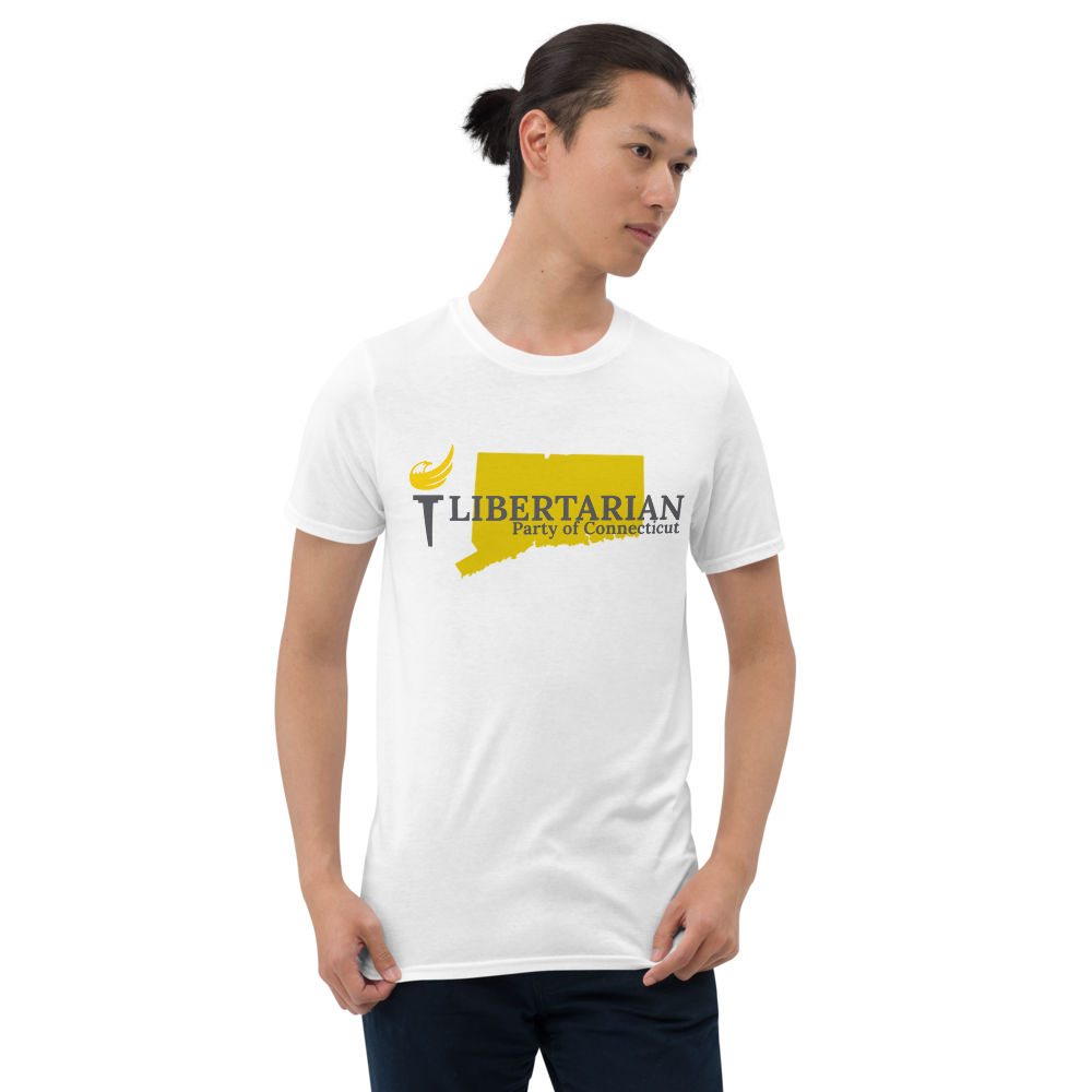 Libertarian Party of Connecticut Short-Sleeve Unisex T-Shirt - Proud Libertarian
