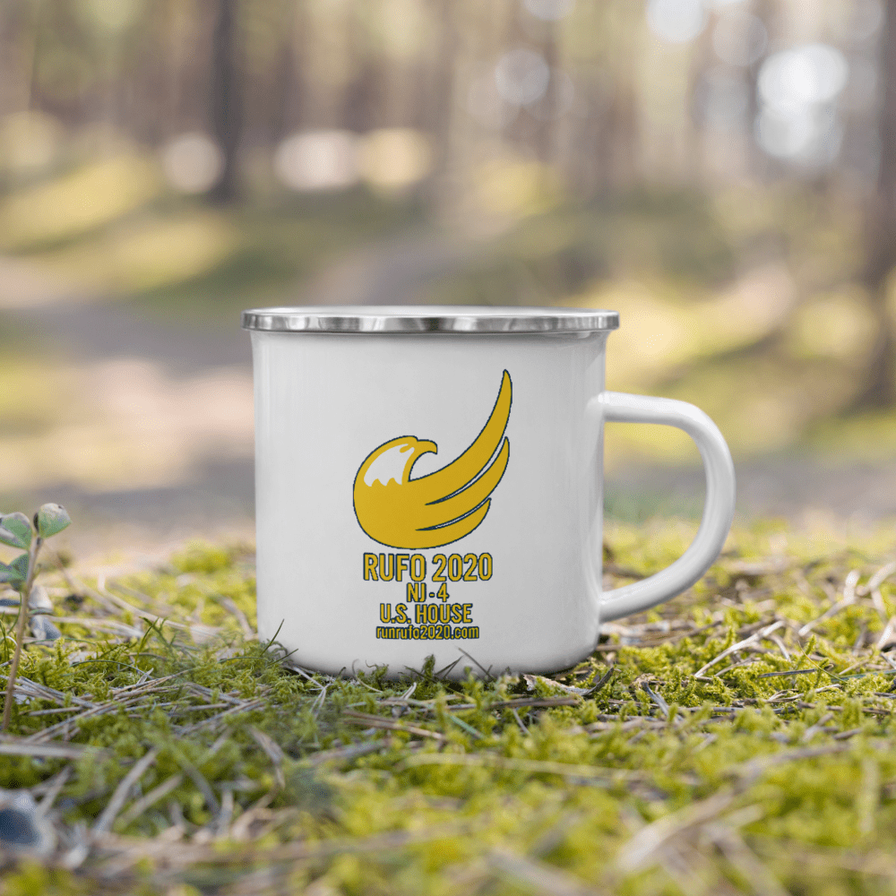Michael Rufo for Congress Enamel Mug - Proud Libertarian