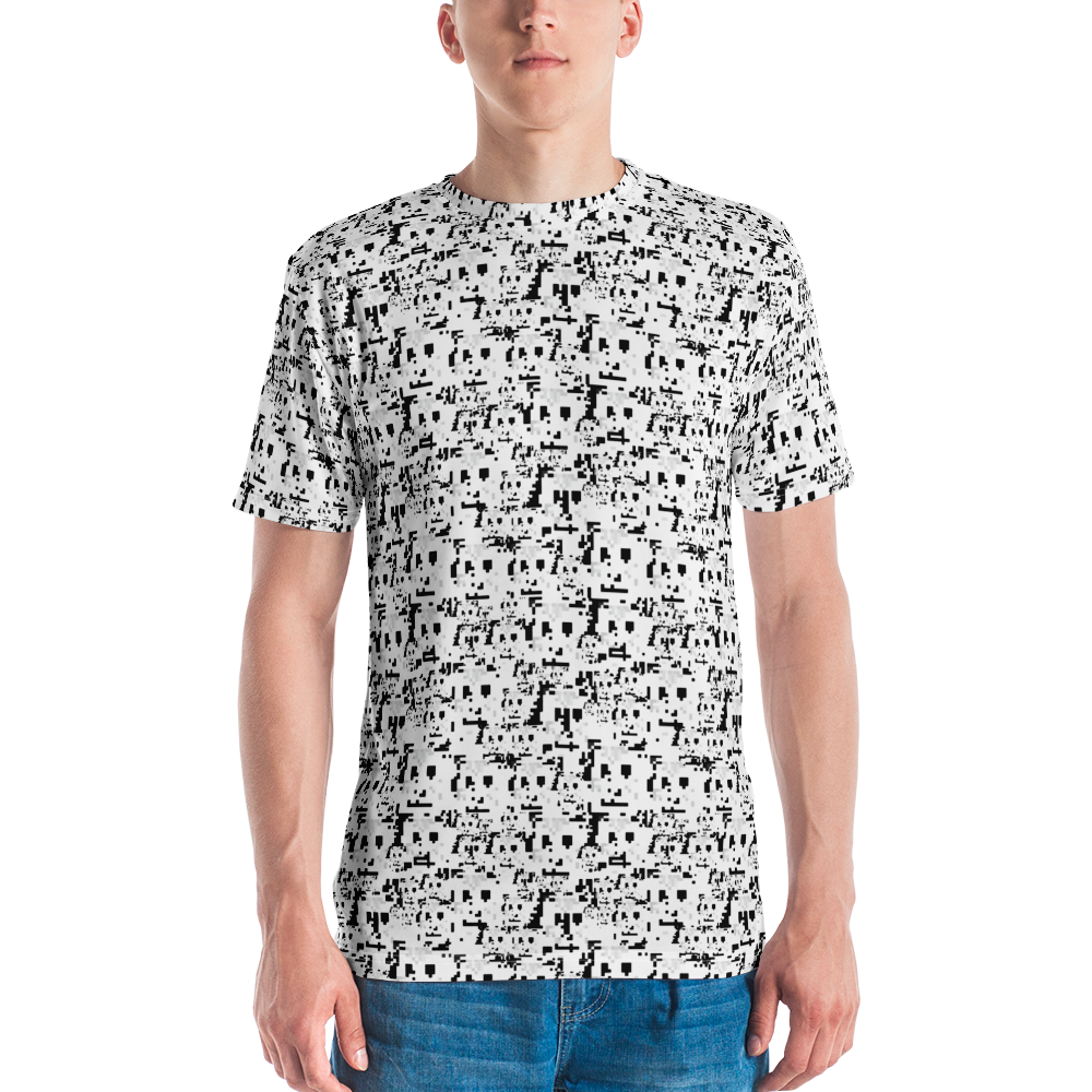 HyperFace Anti-Facial recognition Men's T-shirt - Proud Libertarian