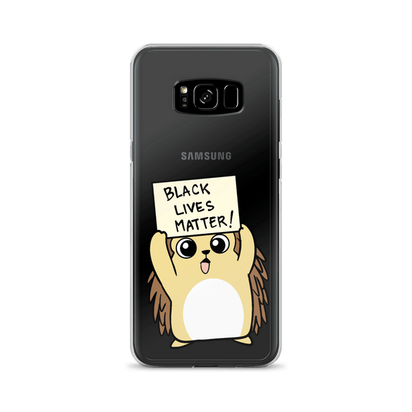 Black Lives Matter Porcupine Cartoon Samsung Case - Proud Libertarian
